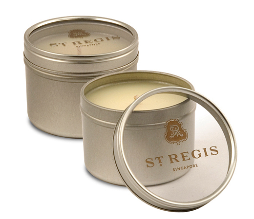 4 oz. Clear Window Travel Tin Candle