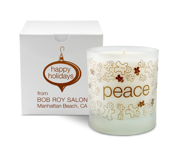 11oz. Holiday Peace Candle Gift