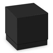 Black LUX Two-Piece Box