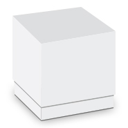 White LUX Two-Piece Box