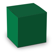 Green Tuck Top Box