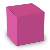Pink Tuck Top Box