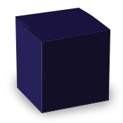 Royal Blue Tuck Top Box